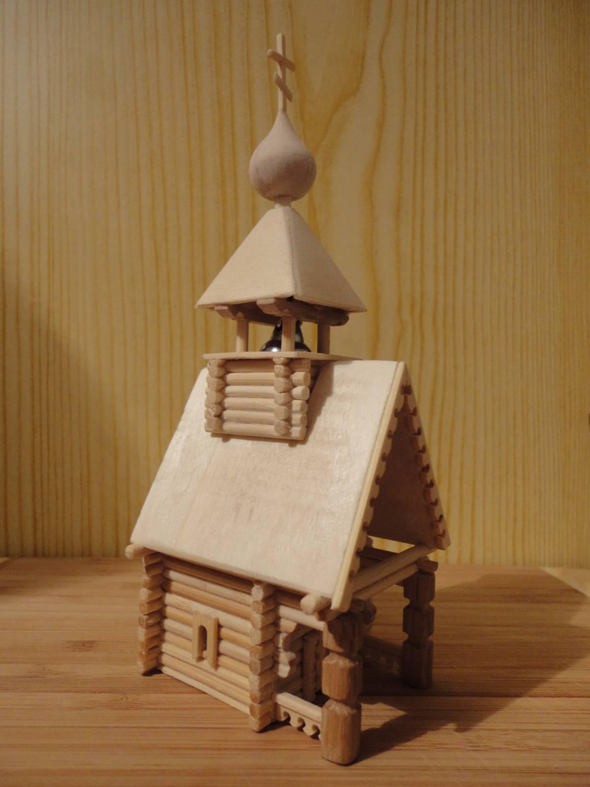 Деревянные поделки домики 13