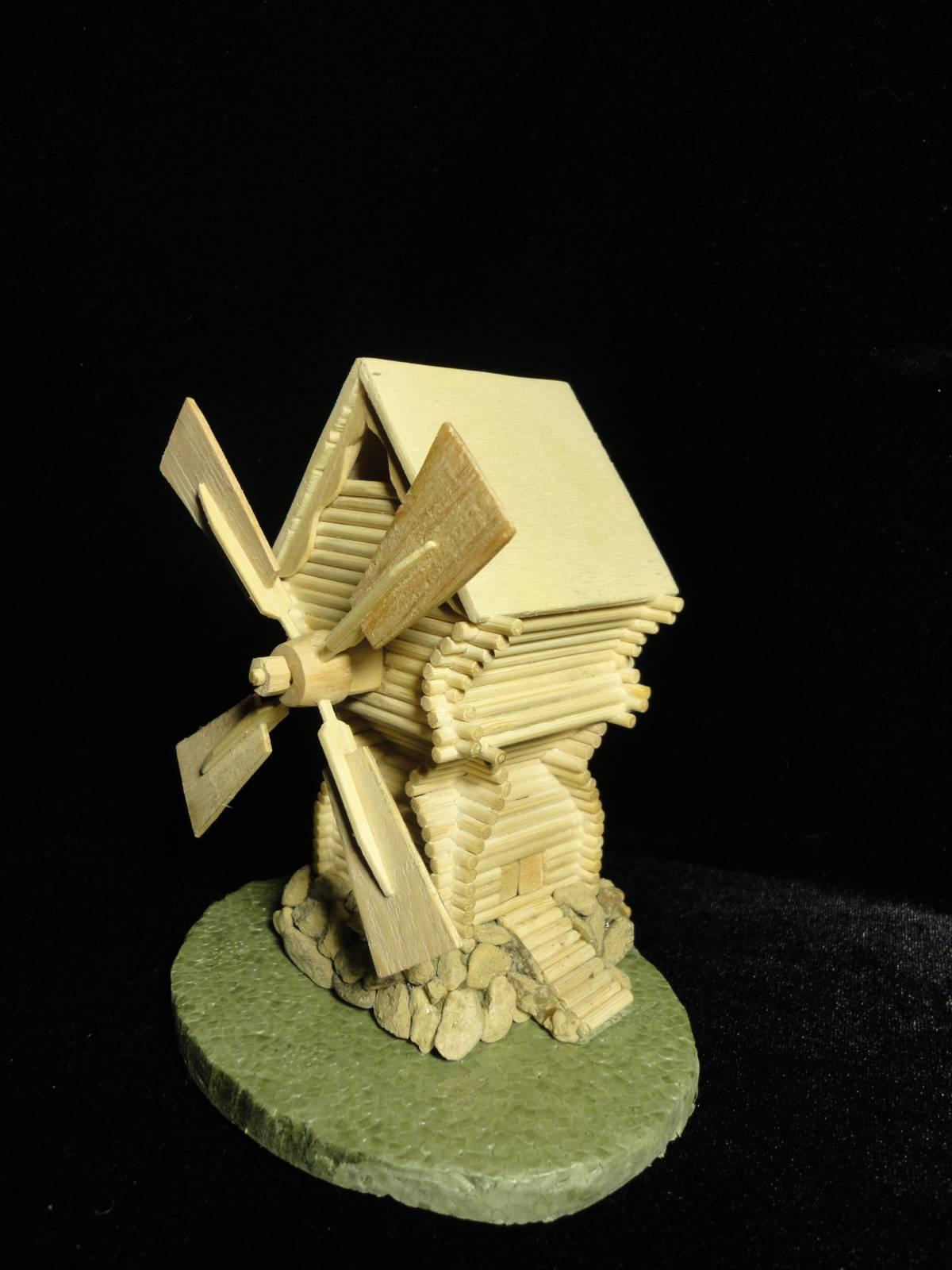 Поделки из дерева ветряная мельница 77